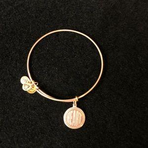 """Alex and Ani """"Heart"""" Bracelet"""